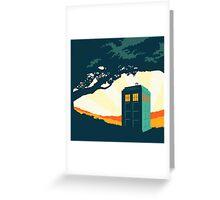 Tardis Travel Greeting Card