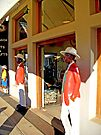 Clothing shop, Graskop, South Africa by Margaret  Hyde