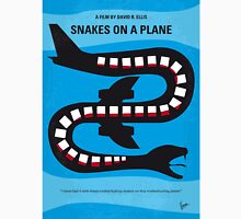 No501 My Snakes on a Plane minimal movie poster Unisex T-Shirt