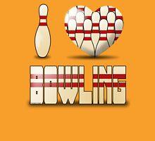 I love bowling - pins Unisex T-Shirt