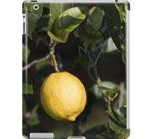 Lemon Yellow iPad Case/Skin
