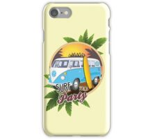 Volkswagen Camper - Surf Beach Party iPhone Case/Skin