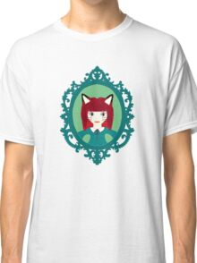 Kawaii Fox Cosplay Girl Classic T-Shirt