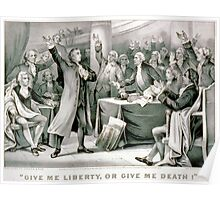 Give me liberty, or give me death - 1876 - Currier & Ives Poster