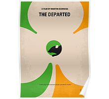 No506 My The Departed minimal movie poster Poster