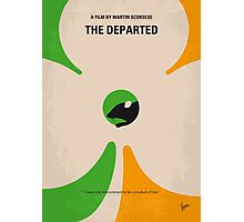 No506 My The Departed minimal movie poster Photographic Print
