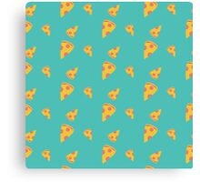 Pizza slices   Canvas Print