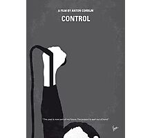 No508 My CONTROLE minimal movie poster Photographic Print