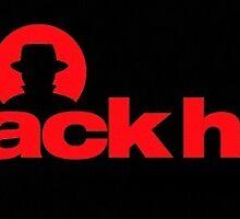 Red BlackHat Decal Logo by karimi