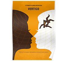 No510 My Vertigo minimal movie poster Poster