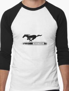 Mustang Design Men's Baseball ¾ T-Shirt