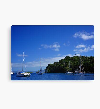 Savusavu Yacht Club Canvas Print