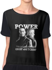 Power TV - Ghost and Tommy Chiffon Top