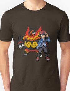 Black And Emboar T-Shirt