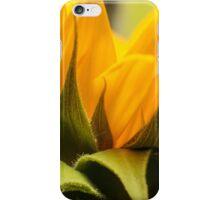 zonnebloem macro iPhone Case/Skin