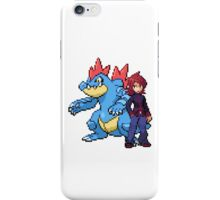 Silver And Feraligatr iPhone Case/Skin