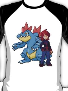 Silver And Feraligatr T-Shirt