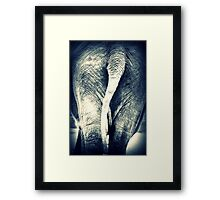 FROM BEHIND Framed Print