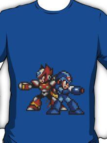 Megaman X And Zero T-Shirt