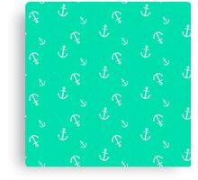 Maritime anchor   Canvas Print