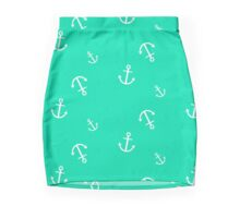 Maritime anchor   Mini Skirt