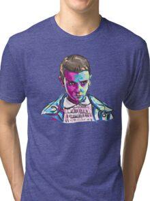 Eleven (11) - Stranger Things Tri-blend T-Shirt