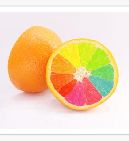 Tutti Frutti Orange Sticker