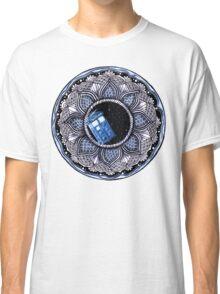 Tardis in space mandala Classic T-Shirt