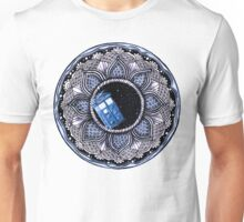 Tardis in space mandala Unisex T-Shirt
