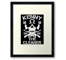 kenny 0mega Framed Print