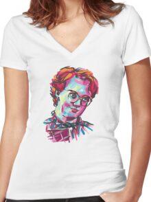 Barb - Stranger Things Women's Fitted V-Neck T-Shirt