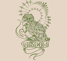 wisdom owl tattoo shirt Unisex T-Shirt