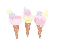 Ice Cream hats by Abi Tompkins