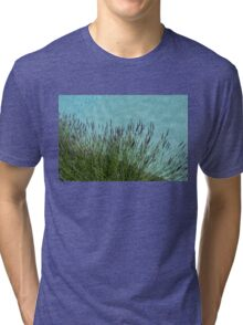 Summer Aromatherapy at the Fragrant Edge of the Swimming Pool Tri-blend T-Shirt