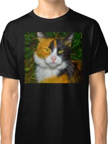 Red-black-and-white cat Classic T-Shirt