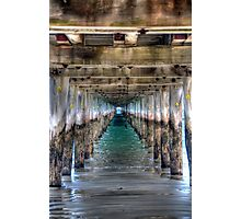 Under The Pier Photographic Print