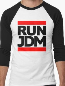 RUN JDM  Men's Baseball ¾ T-Shirt