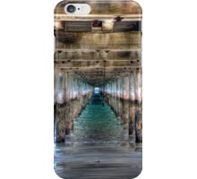 Under The Pier iPhone Case/Skin