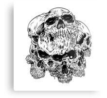 heartless skulls Metal Print
