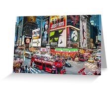 Times Square II Special Edition II Greeting Card
