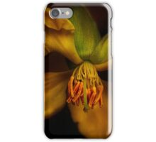 Yellow Drama iPhone Case/Skin