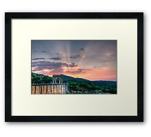 Heaven's Bridge Framed Print