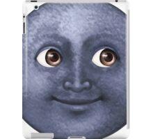 Moon emoji  iPad Case/Skin