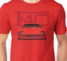Ferrari F40 Red Unisex T-Shirt