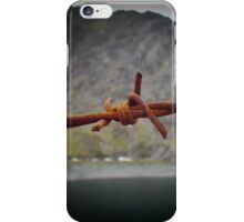 The Barb Wired Mountain Of No Return iPhone Case/Skin
