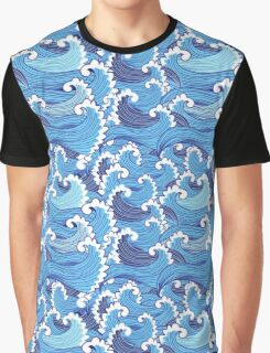 Marine graphic pattern  Graphic T-Shirt