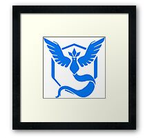-GEEK- Team Mystic Logo Framed Print