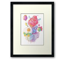 Cream and Sugar Framed Print