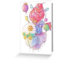 Cream and Sugar Greeting Card