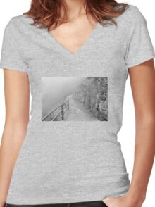 The way Women's Fitted V-Neck T-Shirt